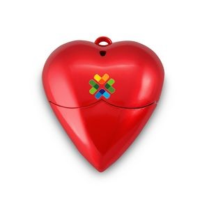 Red Heart Style USB Flash Drive-8G